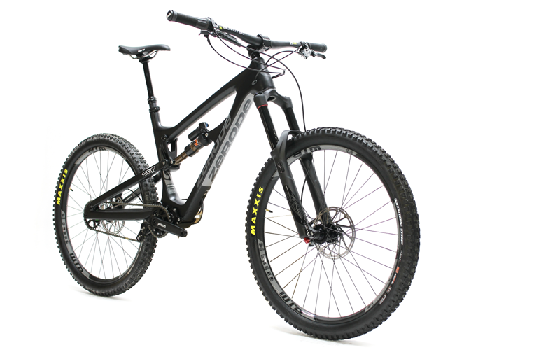 Zerode Taiwha Enduro Bike with Pinion Gearbox. Distributed by Cycle Monkey.