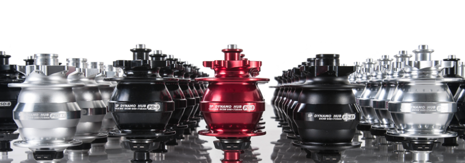 Shutter Precision hubs. Distributed by Cycle Monkey.