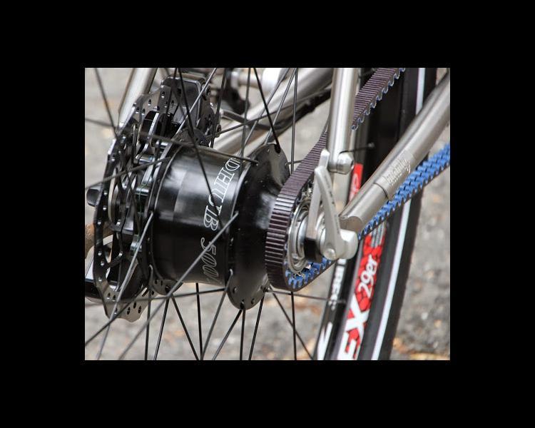Budnitz No 3 Titanium City Bike with Rohloff SPEEDHUB and