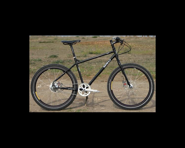 Surly Troll Mountain Touring Commuting Bike With Rohloff