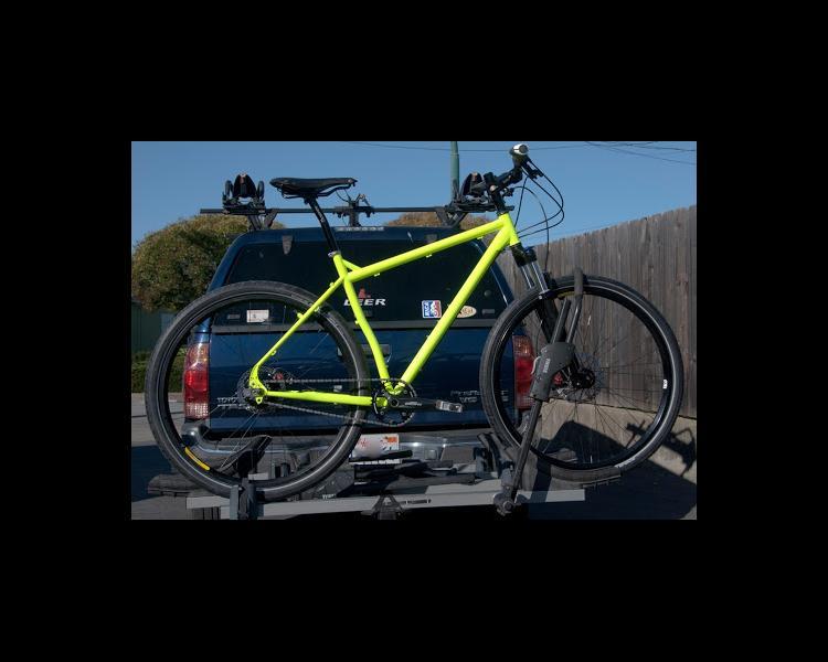 Rohloff-Equipped Surly Ogre 29er Touring/Mountain Bike in HI-VIZ ...