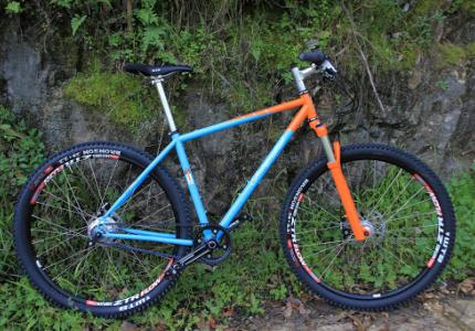1b63d7bfa6f We built this bike for a local customer in El Cerrito, CA as an insurance  replacement for a bike that was stolen. While he was sad to loose his old  bike, ...