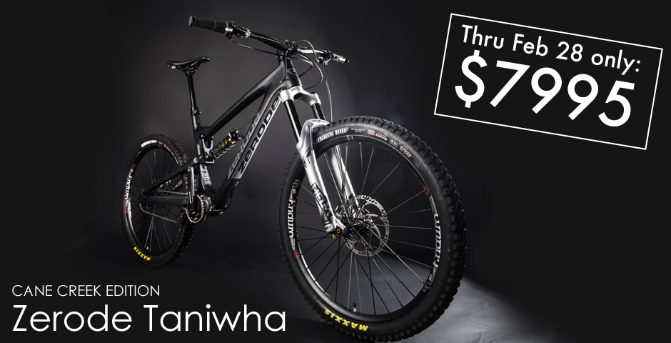 Cycle Monkey Zerode Taniwha February Special