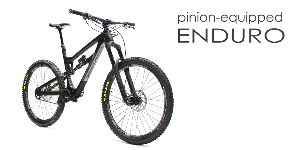 Zerode Taniwha Enduro bike. Distributed by Cycle Monkey.