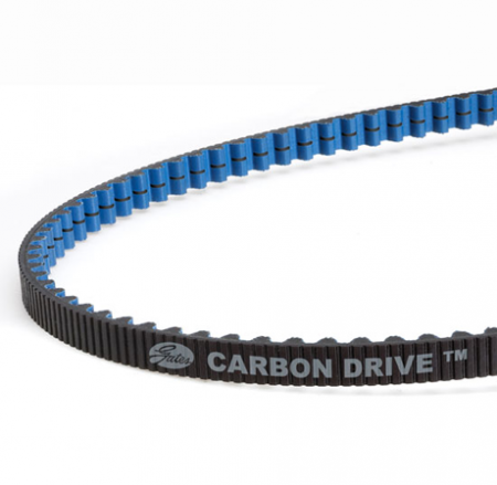 Gates Carbon Drive Tandem Belt. 250 tooth. Distributed by Cycle Monkey.